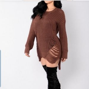 Rust Colored Sweater!!